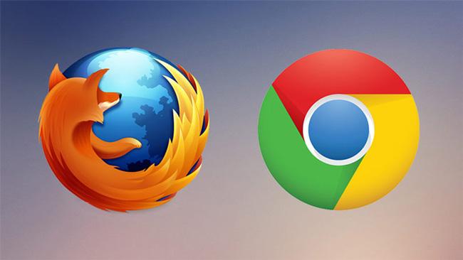 مرورگرهای کروم و فایرفاکس