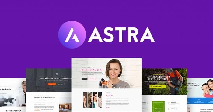 قالب آسترا | دانلود پوسته چند منظوره Astra Pro