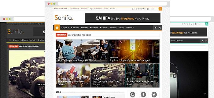 دانلود رایگان قالب صحیفه | Sahifa