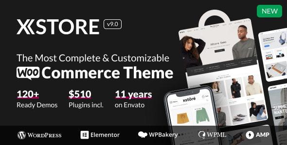 قالب Xstore | قالب فروشگاهی وردپرس ایکس استور