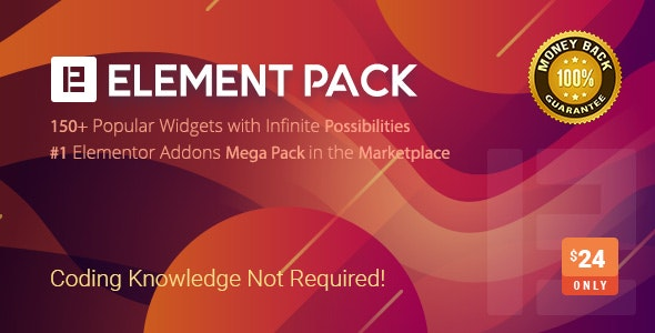 افزونه المنت پک | Element Pack