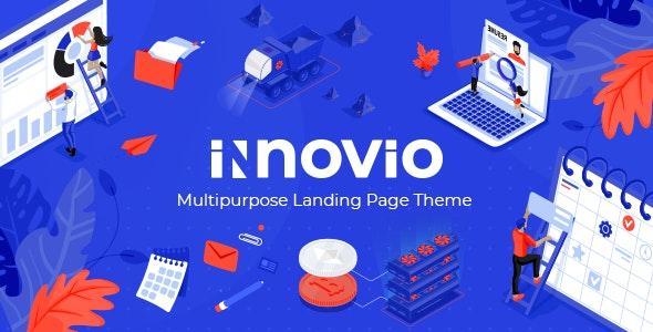 قالب Innovio | قالب وردپرس چند منظوره شرکتی اینوویو