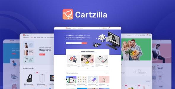 قالب Cartzilla   دانلود قالب فروشگاهی وردپرس کارتزیلا