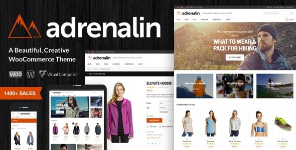 قالب آدرنالین | دانلود قالب وردپرس فروشگاهی Adrenalin