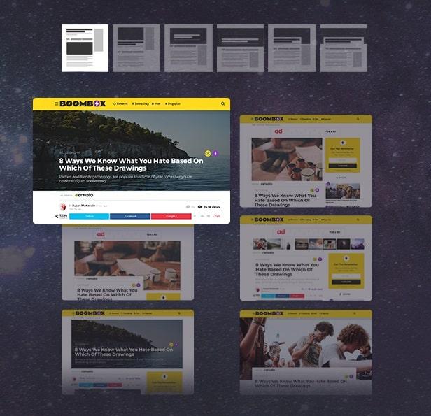قالب BoomBox | دانلود قالب مجله ای و خبری وردپرس بوم باکس