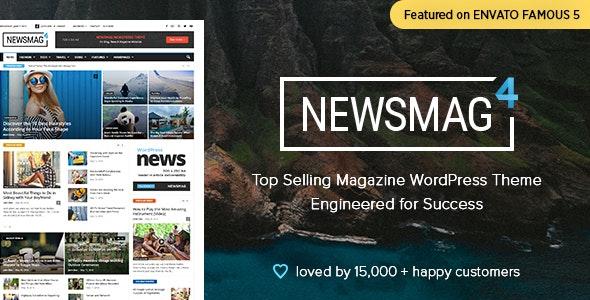 قالب نیوزمگ | دانلود قالب وردپرس خبری Newsmag