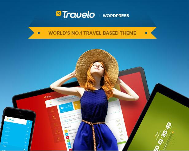 قالب Travelo   دانلود پوسته آژانس مسافرتی و گردشگری تراولو