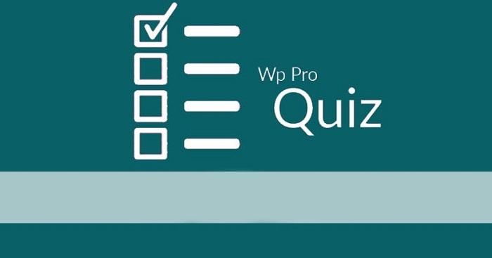 افزونه آزمون ساز وردپرس | دانلود پلاگین وردپرس WP Quiz Pro فارسی
