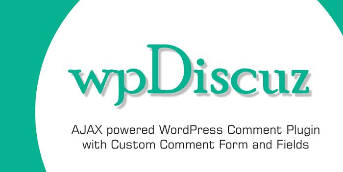 افزونه wpDiscuz | دانلود افزونه دیدگاه های پیشرفته وردپرس