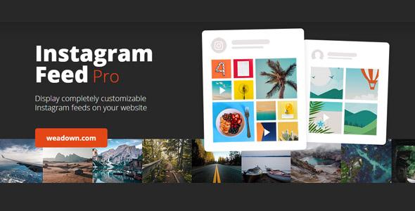 افزونه Instagram Feed Pro | دانلود افزونه وردپرس نمایش فید اینستاگرام