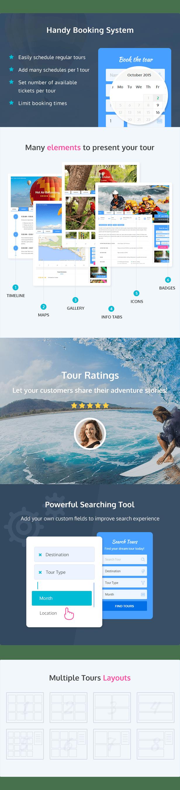 قالب Adventure   دانلود قالب وردپرس تور و آژانس مسافرتی