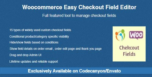 افزونه ویرایش فیلدهای پرداخت ووکامرس   Checkout Field Editor