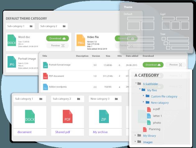افزونه WP File Download | دانلود افزونه مدیریت فایل در وردپرس