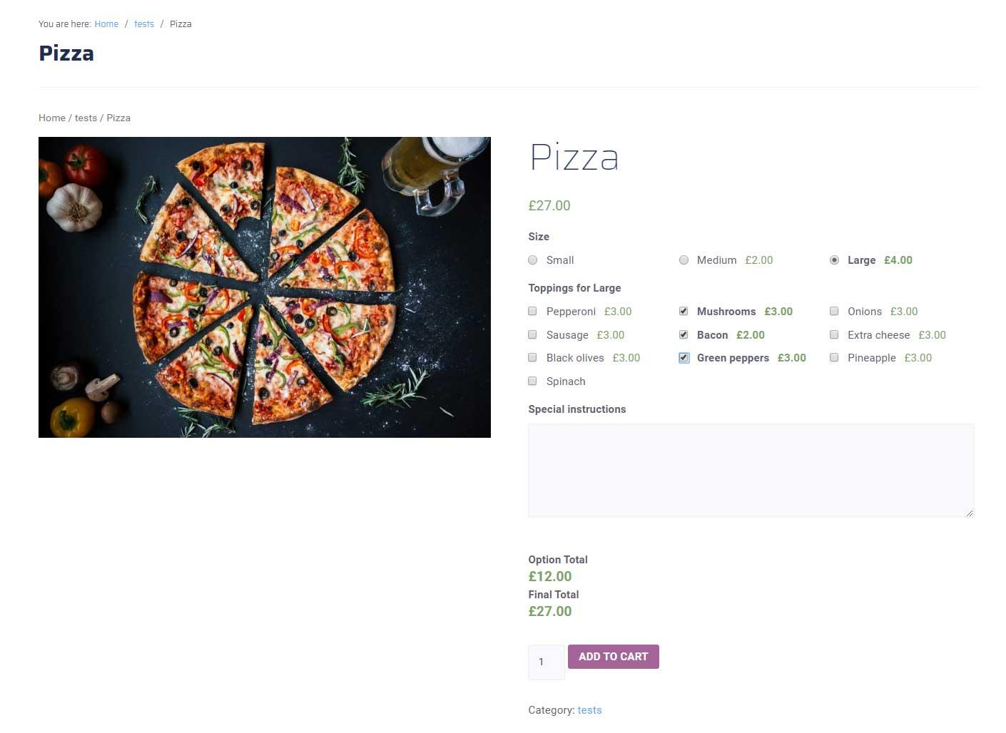 افزونه فیلدهای اضافی در ووکامرس   WooCommerce Extra Product Options