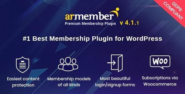 افزونه ARMember | دانلود افزونه عضویت ویژه وردپرس