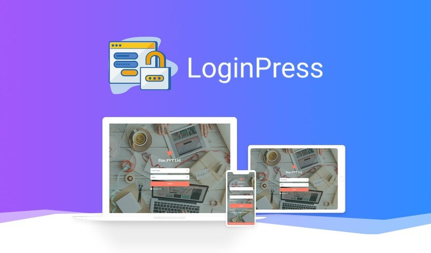 افزونه LoginPress Pro   شخصی سازی صفحه ورود و ثبت نام وردپرس
