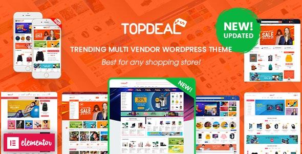 قالب TopDeal   دانلود قالب وردپرس فروشگاهی تاپ دیل