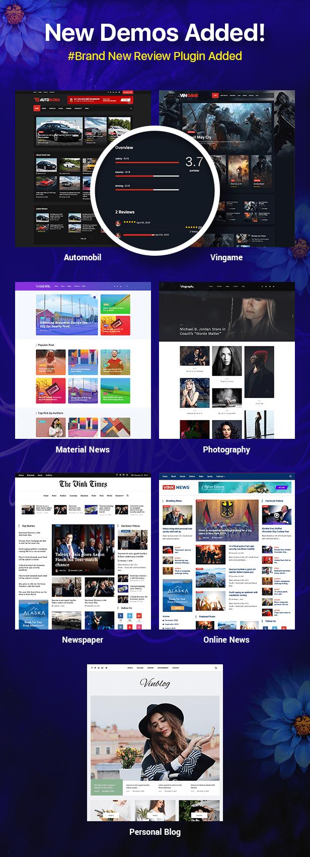 قالب Vinkmag | دانلود قالب وردپرس مجله ای و خبری وینک مگ