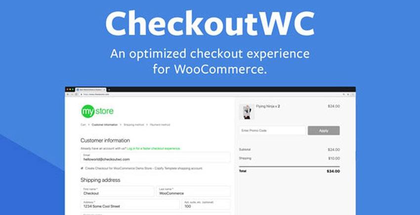 دانلود افزونه ویرایش صفحه پرداخت ووکامرس CheckoutWC v4.0.6