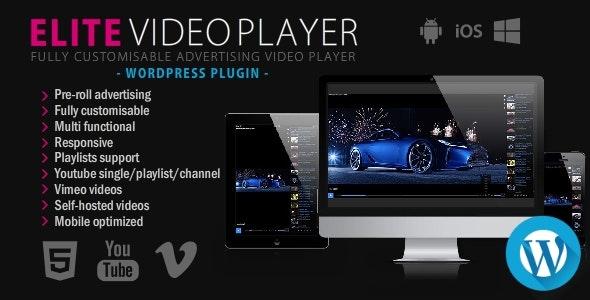 افزونه پخش کننده ویدیو الیت | Elite Video Player