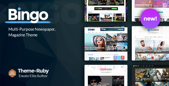 قالب بینگو | دانلود قالب خبری و تکنولوژی bingo